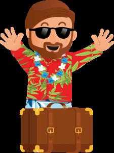 Jean en Vacances